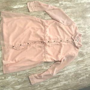 Charlotte Russe pink dress
